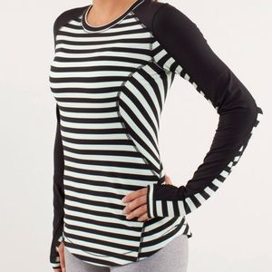 Lululemon Run: Reflect Stripe Long Sleeve